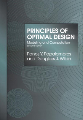 Cover of Principles of Optimal Design: Modeling and Computation